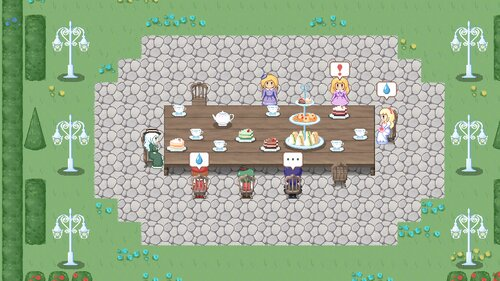The Witches' Tea Party~魔女のお茶会(体験版) Game Screen Shot