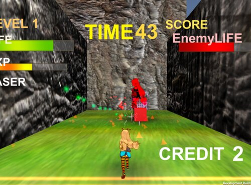 Block Shooting!! Game Screen Shot
