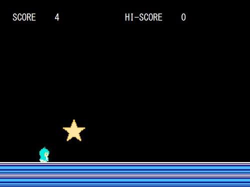 とつげきながれぼし Game Screen Shot1
