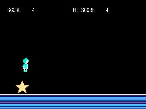 とつげきながれぼし Game Screen Shots