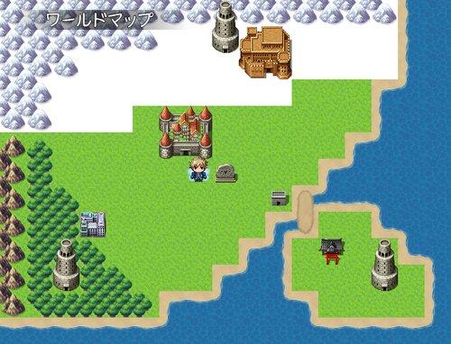 三神獣と女神の塔 Game Screen Shot3