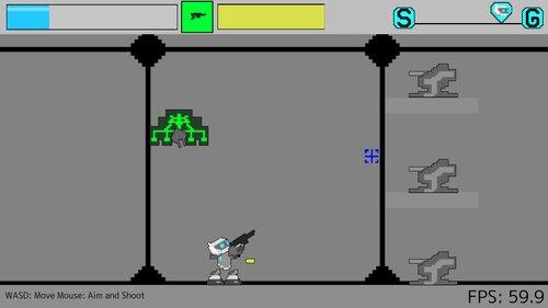 Robotic Shooter Game Screen Shot1
