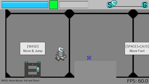 Robotic Shooter Game Screen Shot2