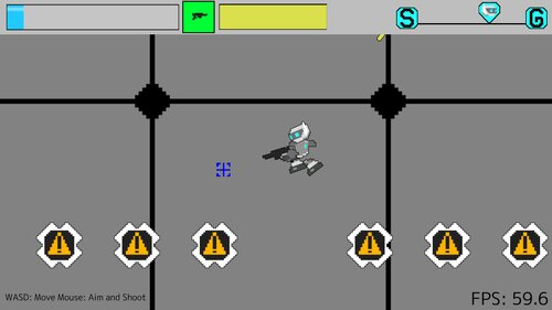 Robotic Shooter Game Screen Shot3