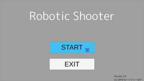 Robotic Shooter Game Screen Shot5