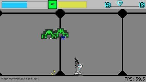 Robotic Shooter Game Screen Shots