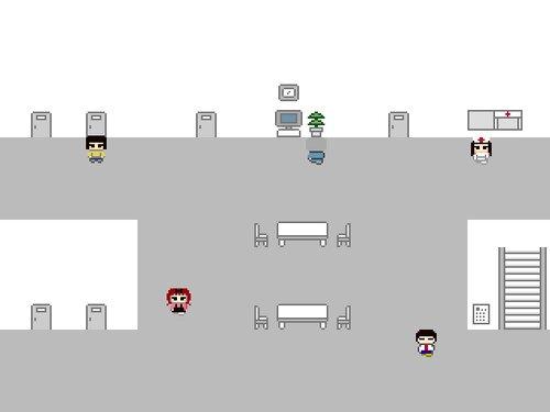 学習室で Game Screen Shot1