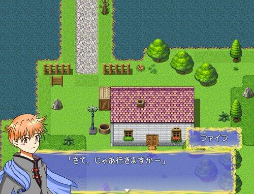 ミコノス村復興物語ぷらす! Game Screen Shots