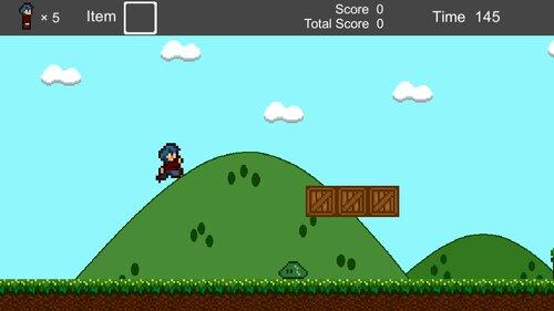YokoScroll Game Screen Shot1