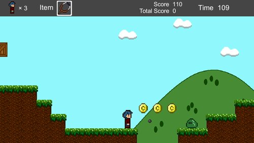 YokoScroll Game Screen Shot3