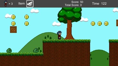 YokoScroll Game Screen Shots