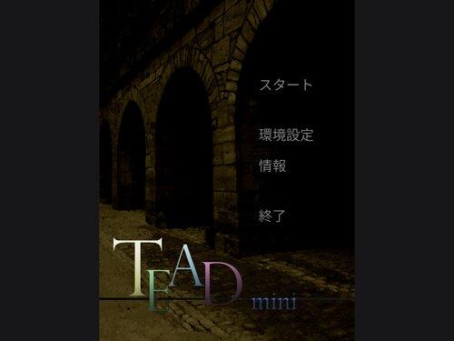 TEADmini (Ren'pyブラウザ版) Game Screen Shot2