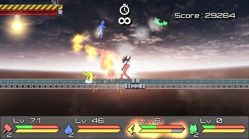 Non Stop Crazy World (Ver1.30) Game Screen Shot