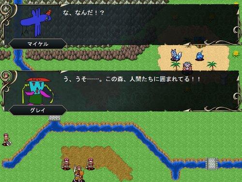 アニマルバトルタクティクス Game Screen Shot1