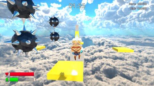 ユニティちゃんスカイウォーク Game Screen Shot2
