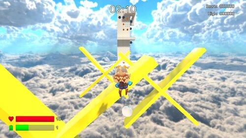 ユニティちゃんスカイウォーク Game Screen Shot3