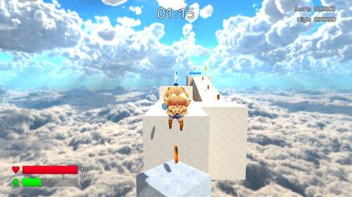 ユニティちゃんスカイウォーク Game Screen Shot4