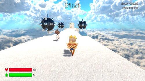 ユニティちゃんスカイウォーク Game Screen Shots