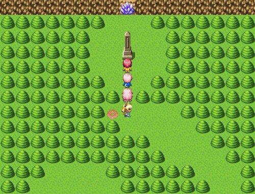 Crystal Children VI - 死の恐怖をこえて - Game Screen Shot2