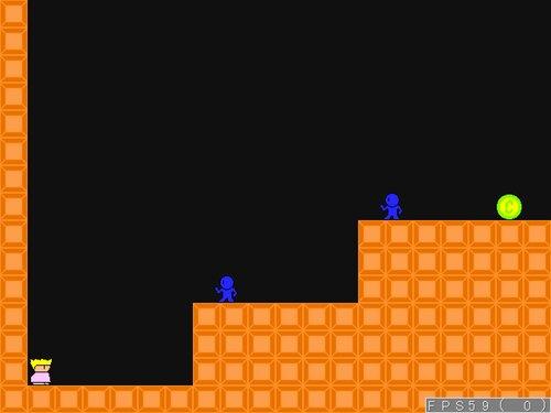 スーパープリンセスピーチ4 Game Screen Shot3