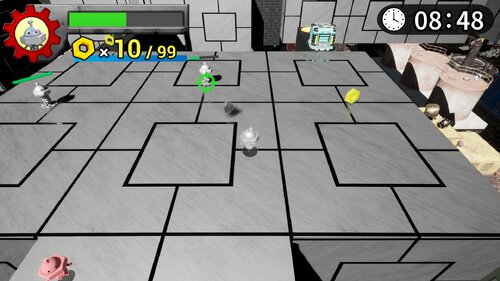 ガラクタキッズ -小さなロボのおたからさがし- Game Screen Shot