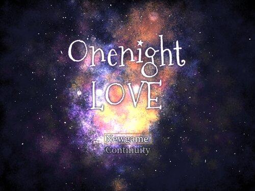 OnenightLOVE Game Screen Shot3