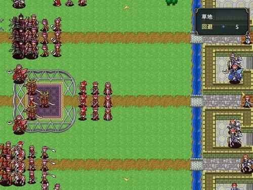エイシェングラートの姫将軍 Game Screen Shot