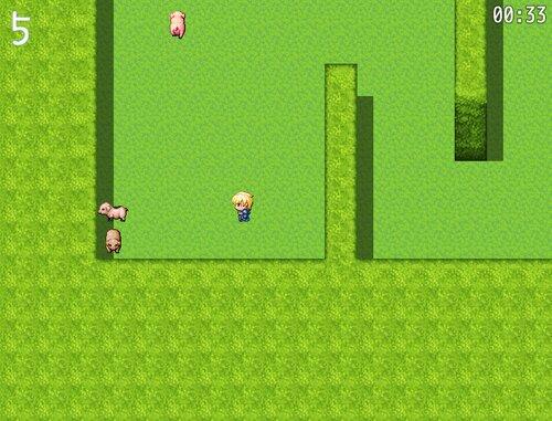 豚を捕らえて嫁を取れ! Game Screen Shot4