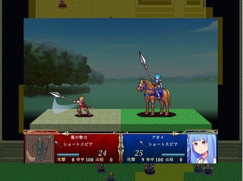 ボイロでSRPGのSTUDIOな短編 Game Screen Shot2