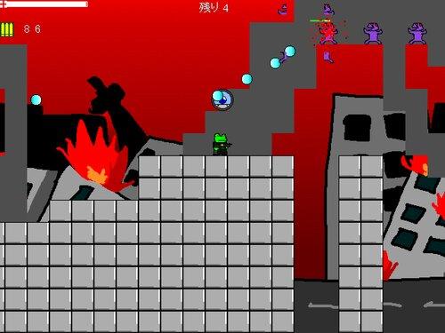 カエルさん Game Screen Shot2