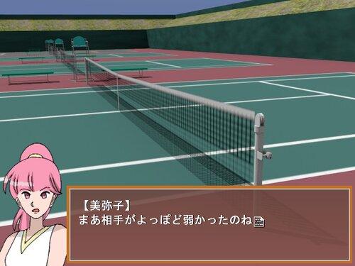 伊奈のテニス Game Screen Shots
