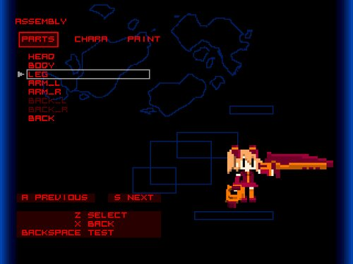 UNTITLED(仮) Game Screen Shots