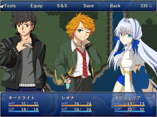 ゼロマヴロス(体験版) Game Screen Shots