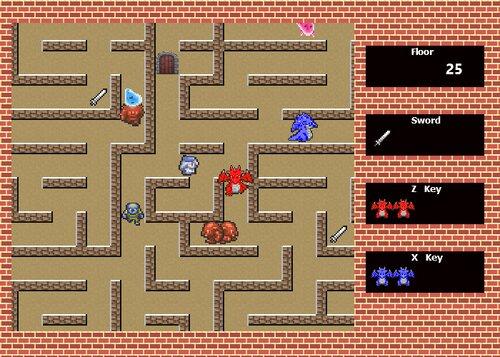 ドラゴンダンジョン Game Screen Shot