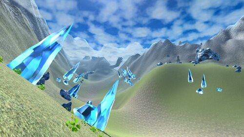 神々の山脈 Game Screen Shot1