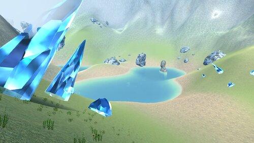 神々の山脈 Game Screen Shot4