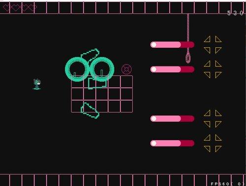 黄色い逆しまの宙 Game Screen Shot