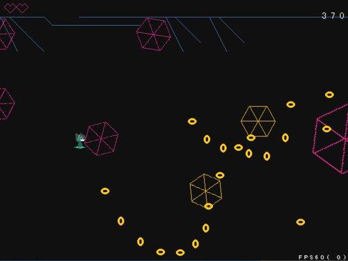 黄色い逆しまの宙 Game Screen Shot2