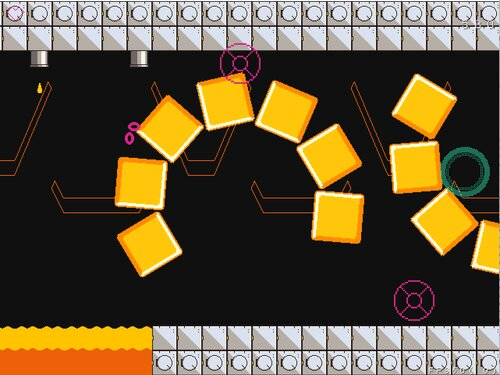 黄色い逆しまの宙 Game Screen Shot4