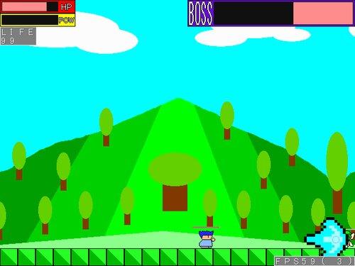 ヤシーユのボスラッシュアクション Game Screen Shot
