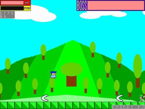 ヤシーユのボスラッシュアクション Game Screen Shot2