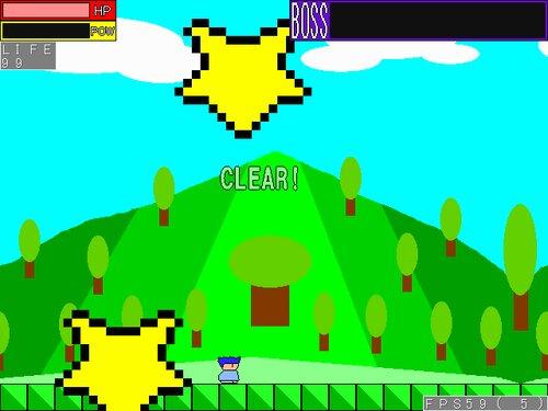 ヤシーユのボスラッシュアクション Game Screen Shot4