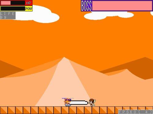 ヤシーユのボスラッシュアクション Game Screen Shots