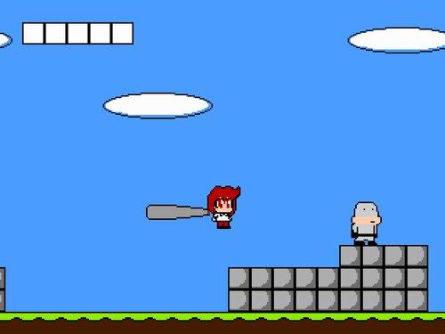 バットで殴れキョーコさん Game Screen Shot