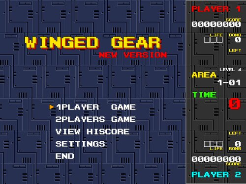 WINGED GEAR New Version Game Screen Shot5