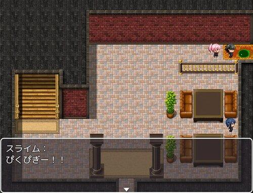 スライムとかと戦うクソゲー(少しH Game Screen Shot2
