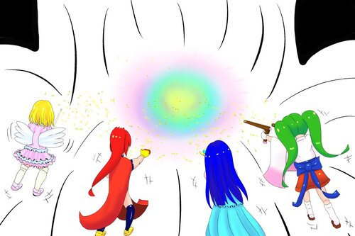 キラメキForteen大長編~アルムの世界と夢の力~ Game Screen Shot5