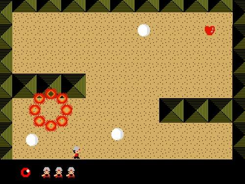 マスターアラビアン Game Screen Shot