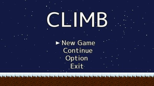 CLIMB Game Screen Shots