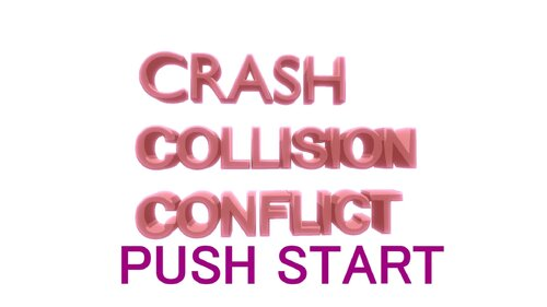 CrashCollisionConflict Game Screen Shots